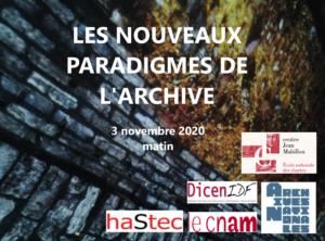 séance: l'intelligence artificielle au service des archives